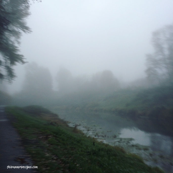 Mile Markers: Running in the Sammamish Fog