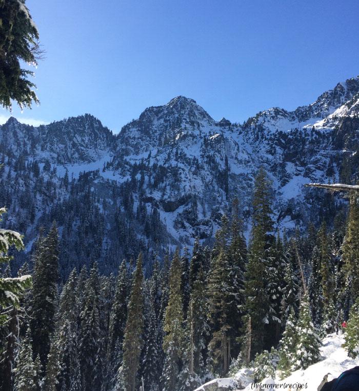 Snowy Hike at Snow Lake