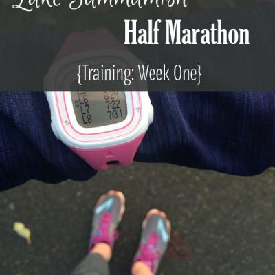 Mile Markers: Lake Sammamish Half Marathon Training Week 1