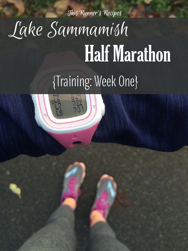 Lake Sammamish Half Marathon Training Week 1 | This Runner's Recipes