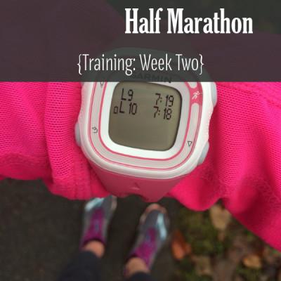 Mile Markers: Lake Sammamish Half Marathon Training Week 2