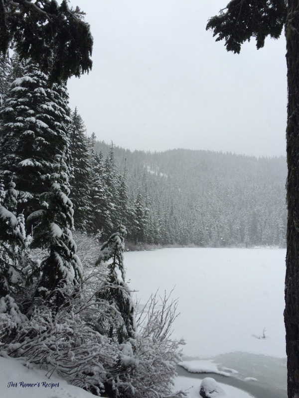 Olallie Lake Winter Hiking