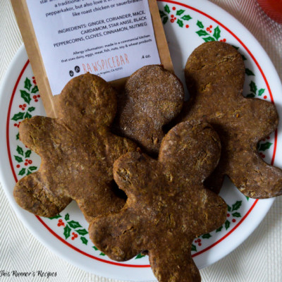 RawSpiceBar Review + Whole Wheat Gingerbread Cookies