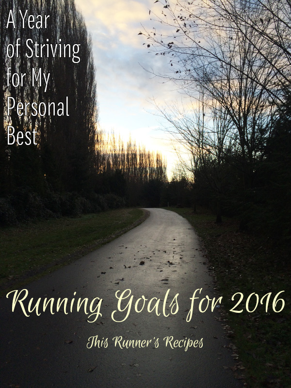 Running Goals for 2016 | This Runner's Recipes