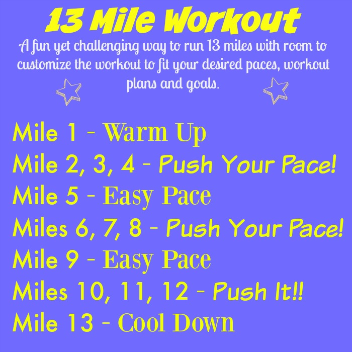 Half Marathon Long Run Workout