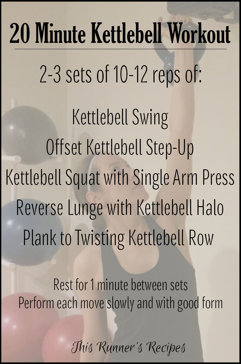 20 Minute Kettlebell Workout for Runners