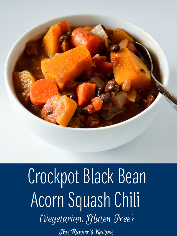 Black Bean Acorn Squash Chili