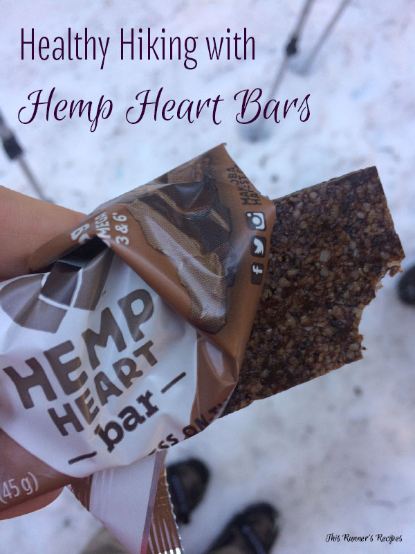 Healthy Hiking with Manitoba Harvest Hemp Heart Bars