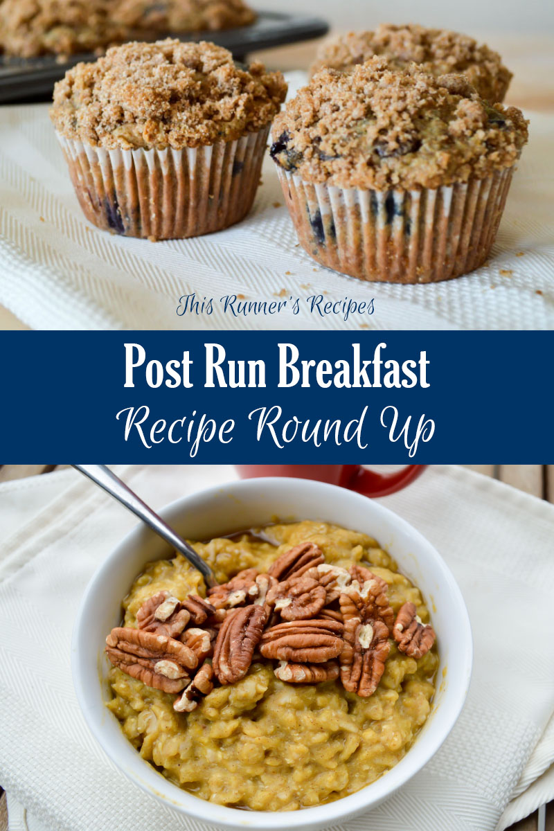 Post Run Breakfast Recipe Round Up