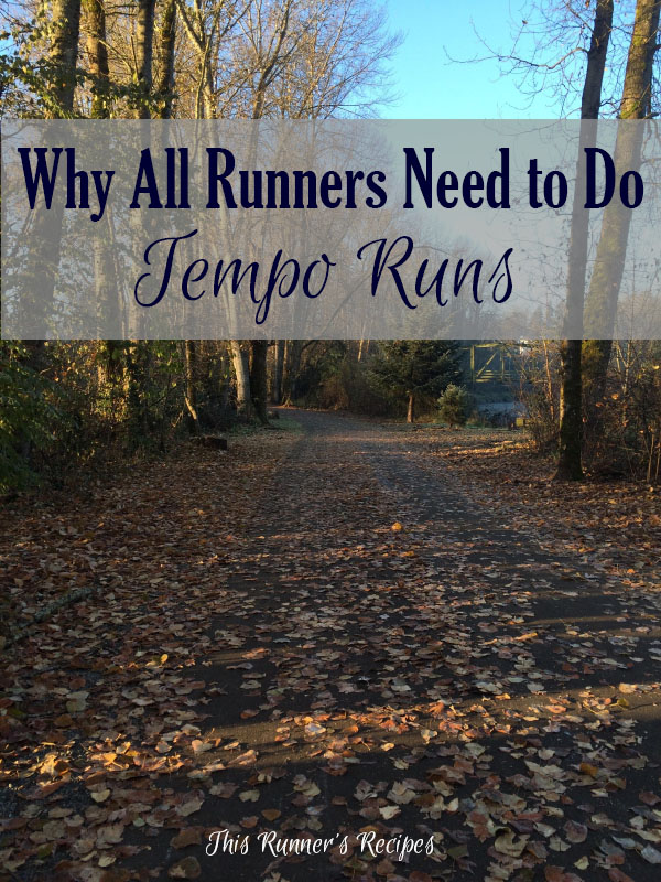 Why All Runners Need to Do Tempo Runs