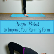 Yoga Poses for Stronger Running Form {Sublimely Fit}
