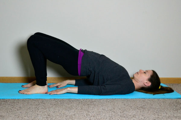 Yoga Poses for Stronger Running Form: Bridge
