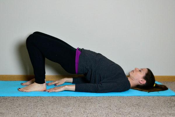 Yoga Poses for Stronger Running Form: Bridge