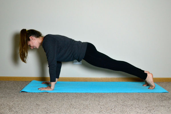 Yoga Poses for Stronger Running Form: Plank