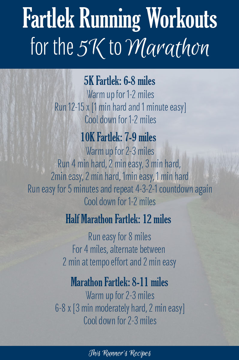Lek Workouts For The 5k To Marathon