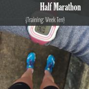 Mile Markers: Lake Sammamish Half Marathon Training Week 10