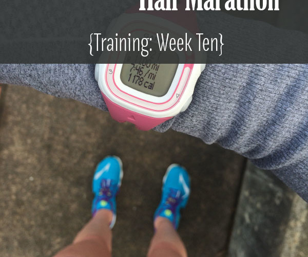 Lake Sammamish Half Marathon Training Week 10