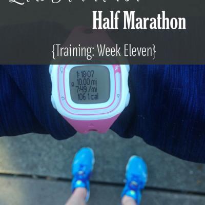 Mile Markers: Lake Sammamish Half Marathon Training Week 11