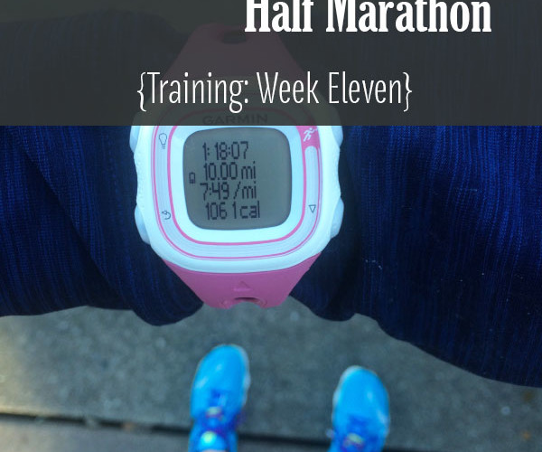 Lake Sammamish Half Marathon Training Week 11