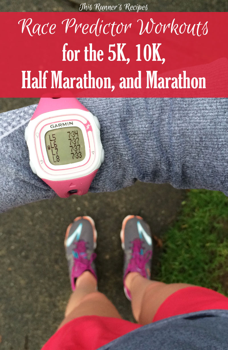 Race Predictor Workouts from the 5K to Marathon: Free Exclusive Download!