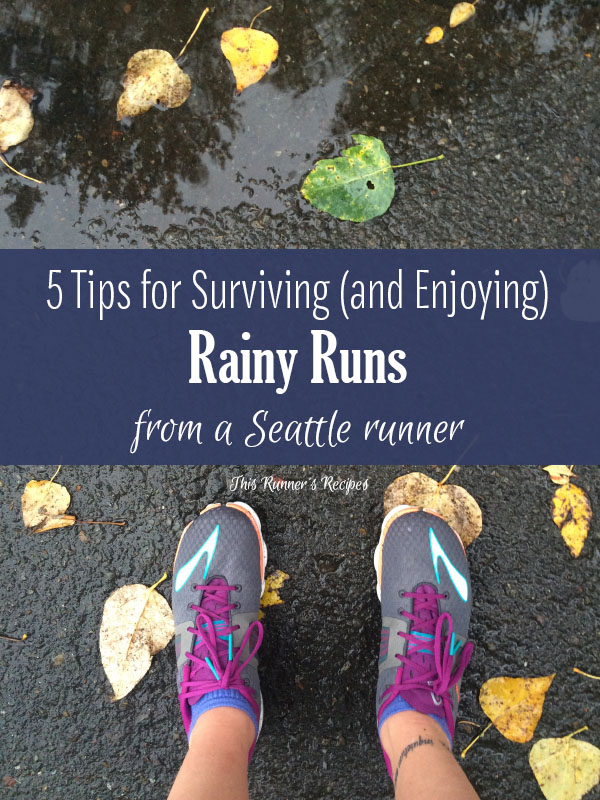 5 Tips for Surviving and Enjoying Rainy Runs