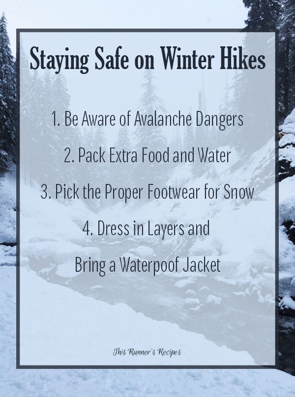4 Tips for Staying Safe on Winter Hikes