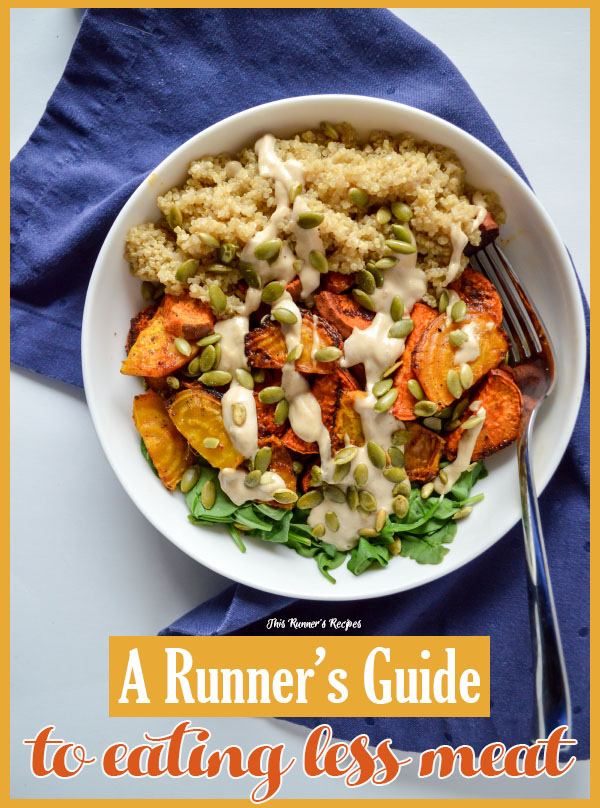 A Runner's Guide on How to Eat Less Meat