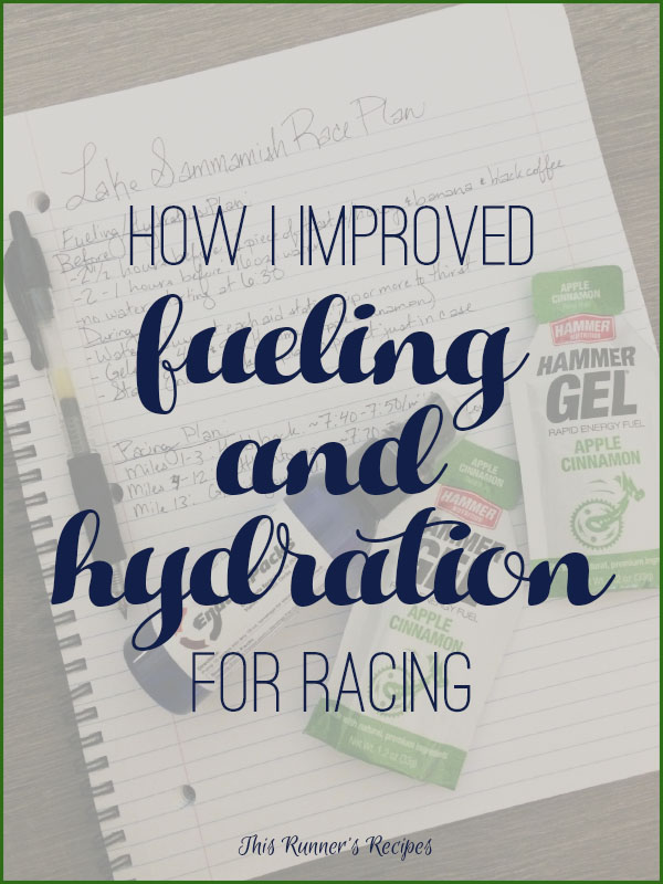 How I Improved My Fueling and Hydration for Racing