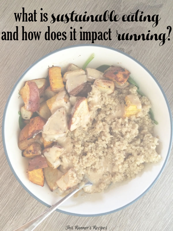Sustainable Eating and Running
