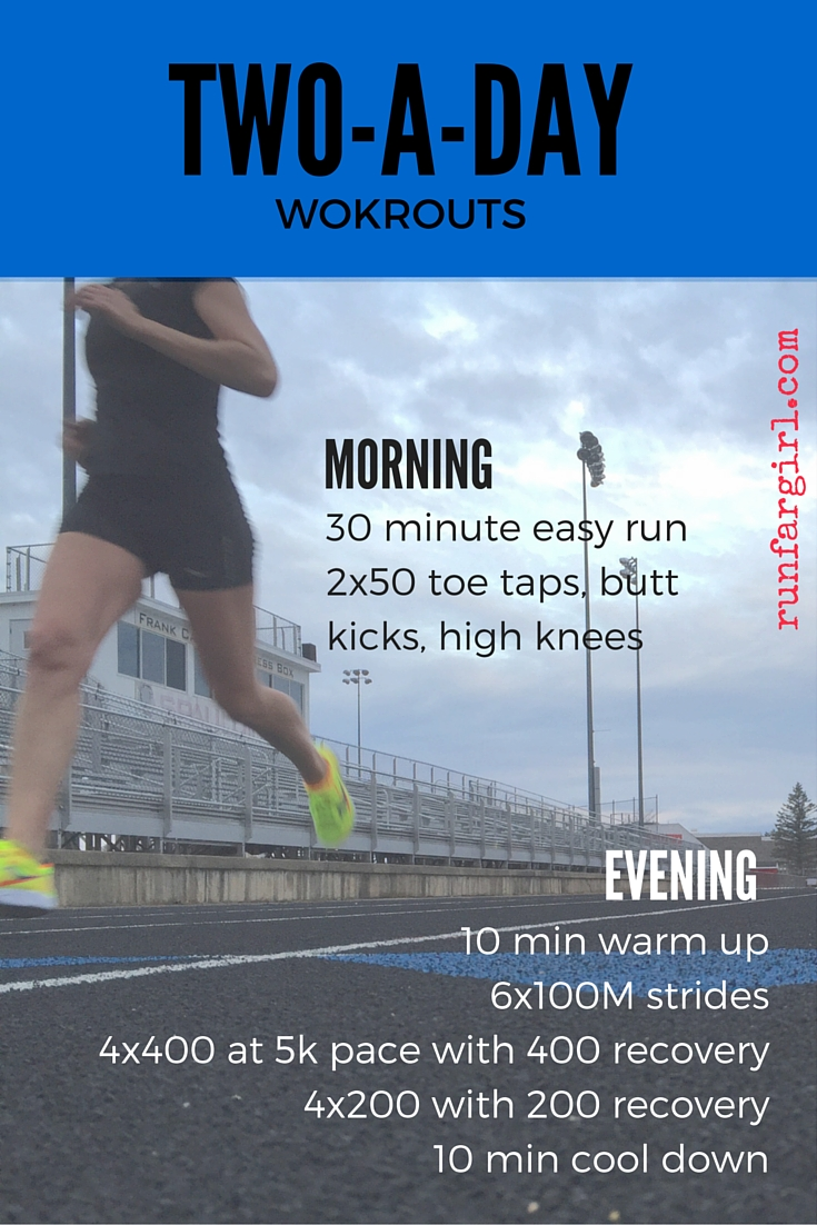 track workouts for 5k