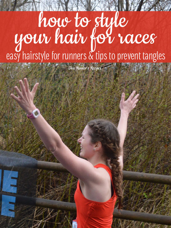 Tangle-Proof Hairstyle for Runners