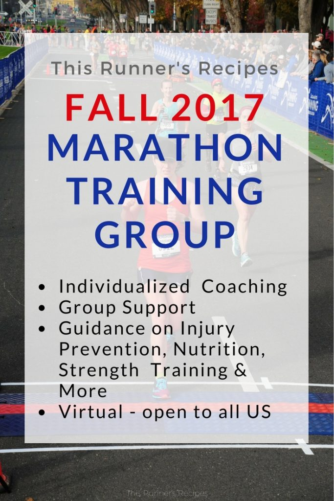 Fall Marathon Training Group 2017