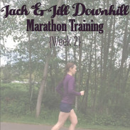 Jack and Jill Marathon Training Week 2