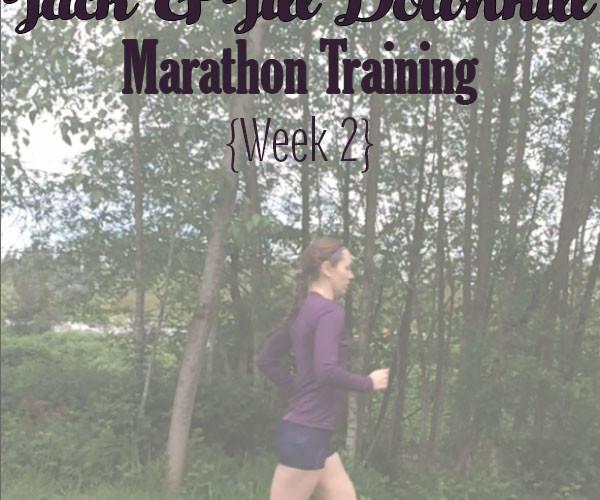 Jack and Jill Marathon Training Week 2