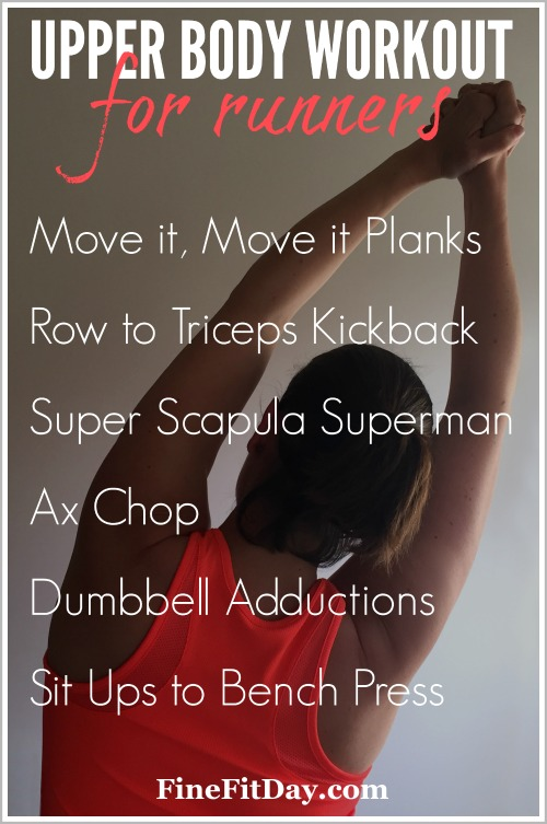 6 Upper Body Workout for Runners - Fine Fit Day