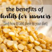 Lentil Recipes for Runners