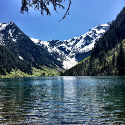 Goat Lake Hiking, Cross-Training, and Running Shoes
