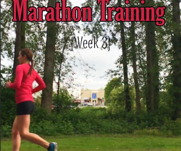Jack and Jill Marathon Training Week 3