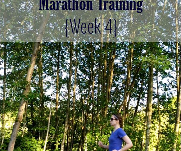 Jack and Jill Marathon Training Week 4