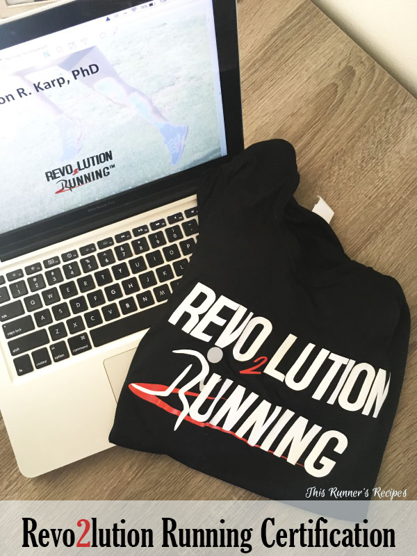 REVO2LUTION Running Certification
