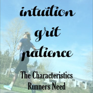 The Characteristics You Need as a Runner