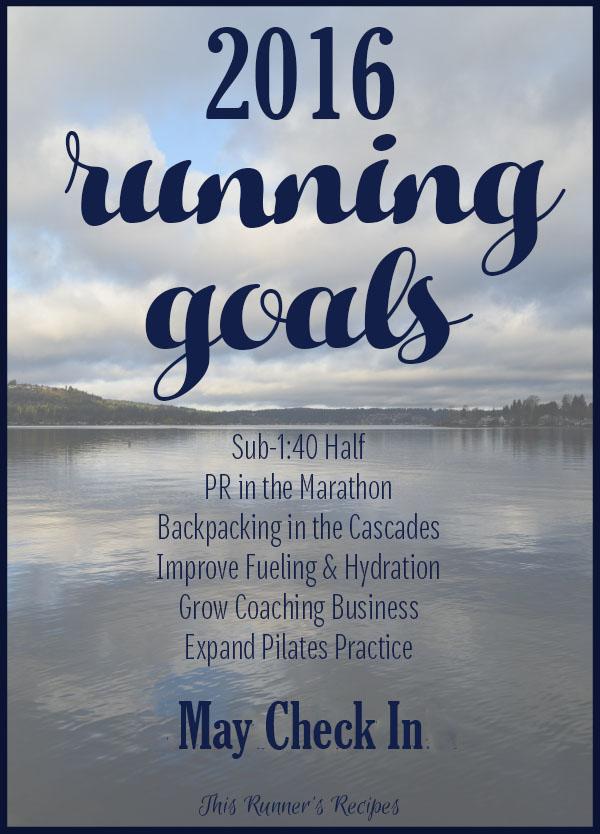 2016 Running Goals May Update