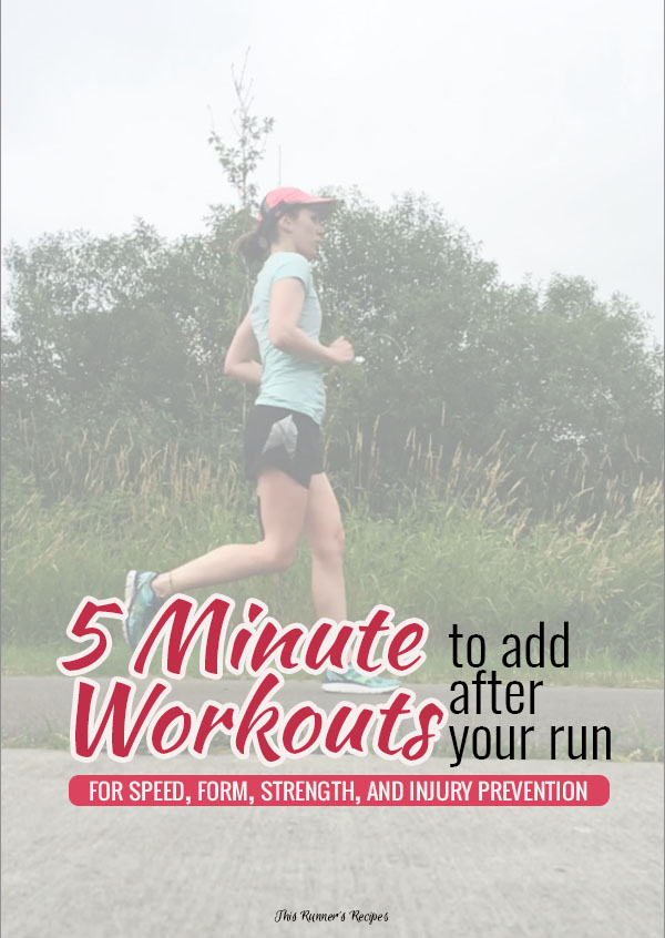 5 Minute Workouts to Add After Your Run