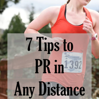 How to PR in Any Distance When You're Already Doing Speedwork