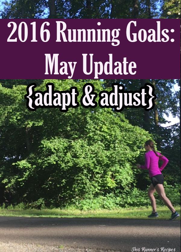 May 2016 Running Goals Update