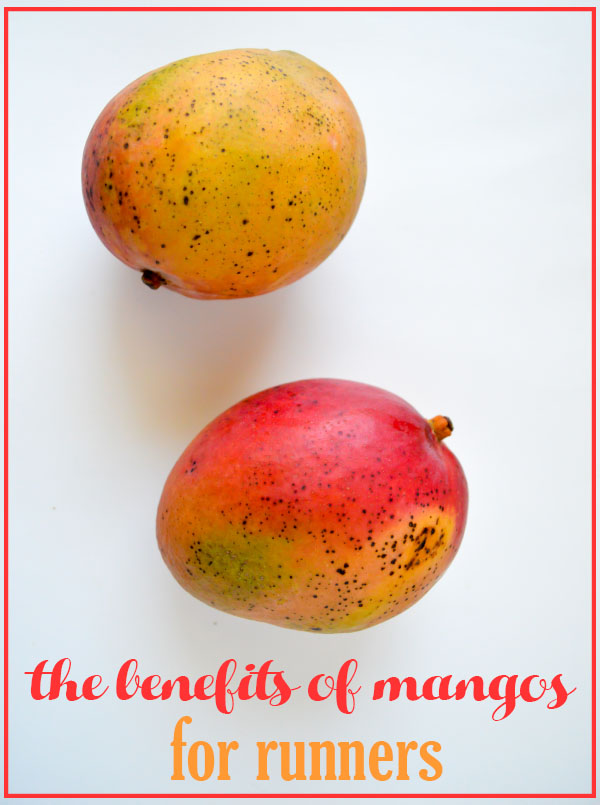 The Benefits of Mangos for Runners #mangos #fitfluential #ad