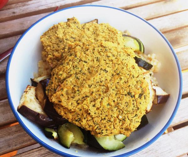 Vegetarian Recipe Challenge: Baked Falafel