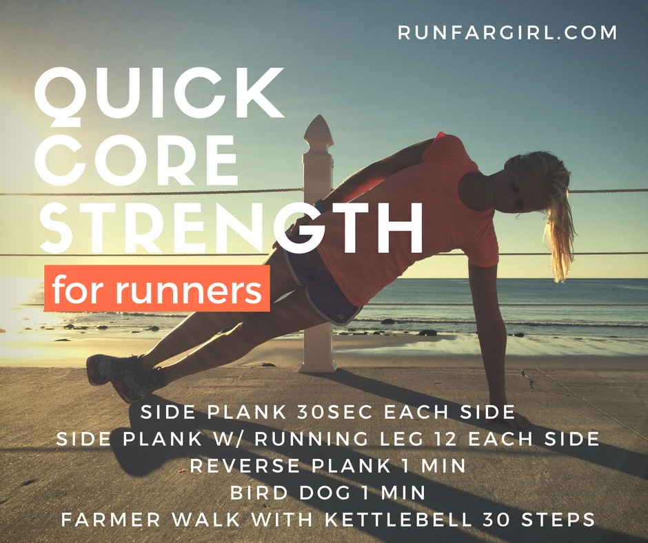 Keep Your Core Strong With This Quick Workout For Runners Runfar