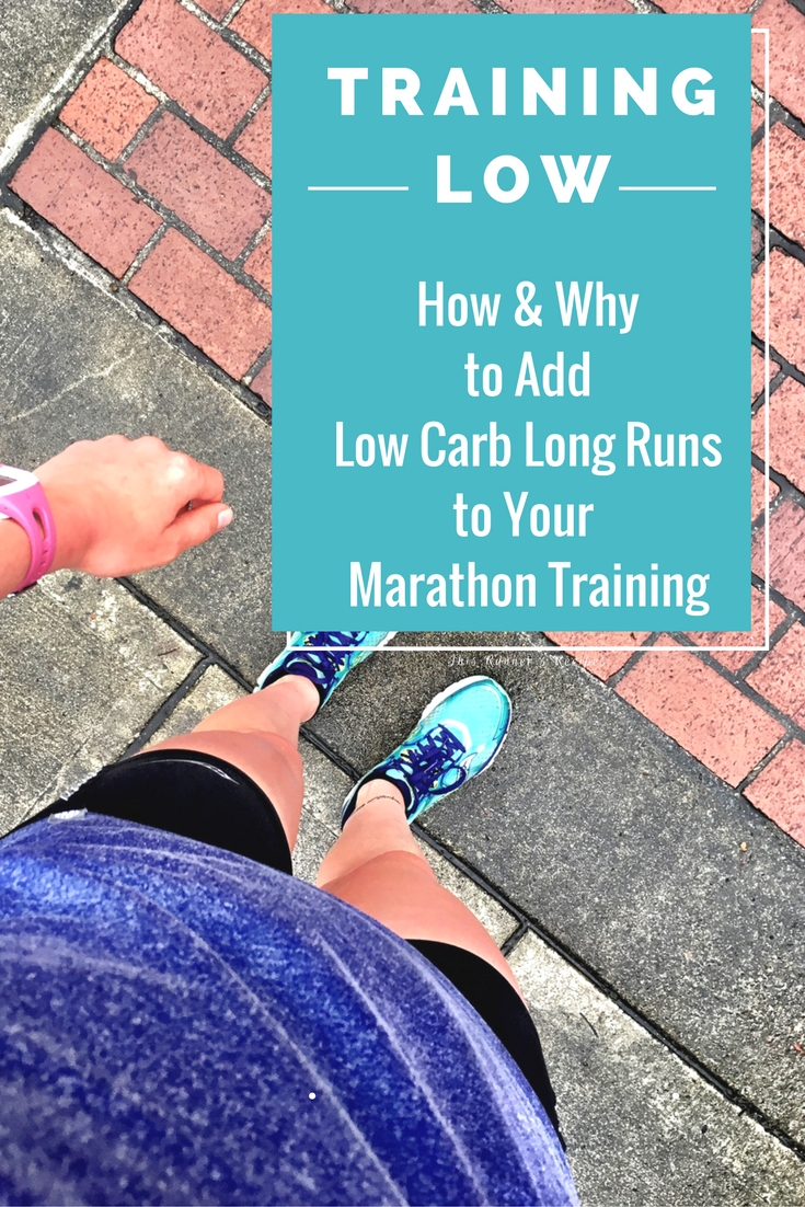 Training Low: The How & Why of Low Carb Long Runs