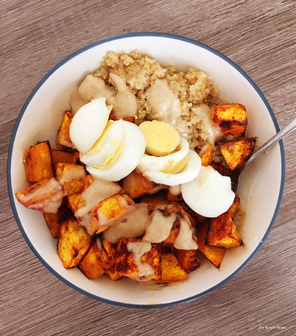 How to Make Vegetarian Power Bowls: Butternut Squash and Quinoa Power Bowl Recipe